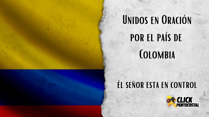 Unidos en oración por el País de Colombia