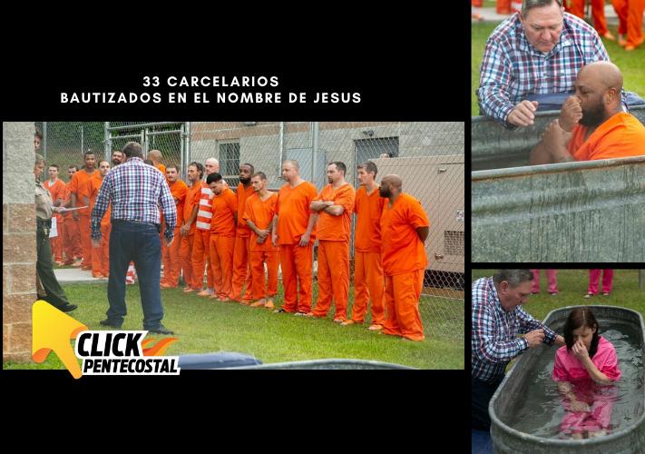 BAUTIZADOS EN EL NOMBRE DE JESÚS
